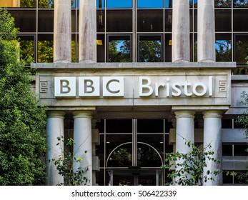 BRISTOL, UK - CIRCA SEPTEMBER 2016: HDR BBC Broadcasting House