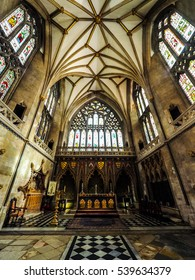 BRISTOL, UK - CIRCA SEPTEMBER 2016: HDR Bristol Cathedral (formally the Cathedral Church of the Holy and Undivided Trinity)