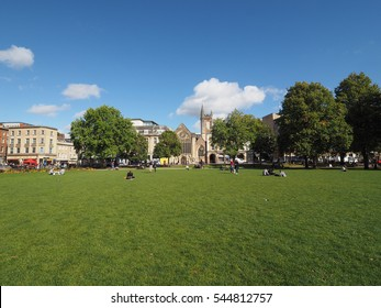 BRISTOL, UK - CIRCA SEPTEMBER 2016: College Green public park