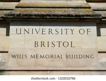 Bristol, UK, May 6, 2018: Wills Memorial Building, Queens Road, Bristol, part of the University of Bristol, completed 1925