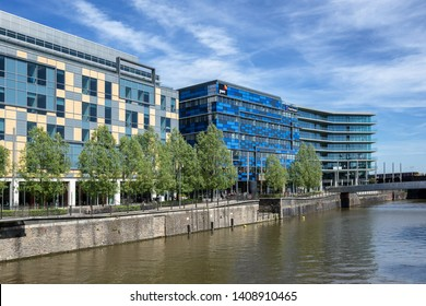 Bristol,Somerset,England on 13th May 2019:Price Waterhouse Coopers Bristol  Offices on Glass Wharf, Price Waterhouse Coopers  or PWC is the world's largest accountancy firm  measured by revenue