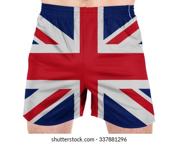 Britain. British flag