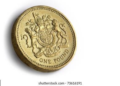 British 1 pound coin