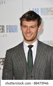 """British actor Alex Pettyfer at the world premiere of his new movie """"I Am Number Four"""" at the Mann Village Theatre, Westwood. February 9, 2011  Los Angeles, CA Picture: Paul Smith / Featureflash"""