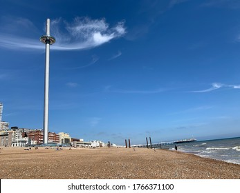 British airway i360 on Brighton beach front