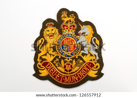 British Army Coat Arms Stock Photo Edit Now 126557912 Shutterstock