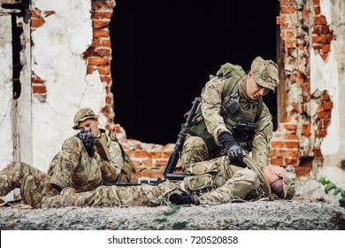 Injured Soldier Images, Stock Photos & Vectors | Shutterstock
