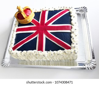 British cake to celebrate the up coming royal wedding