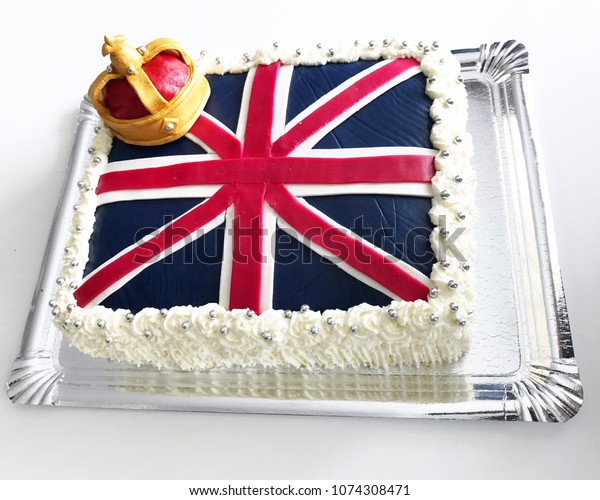 British cake to celebrate the up coming royal wedding