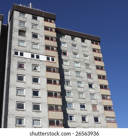 British council housing blocks of flats