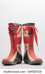 british flag wellington boots