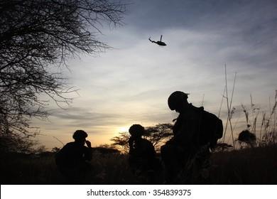 British Gurkha Army In Kenya
