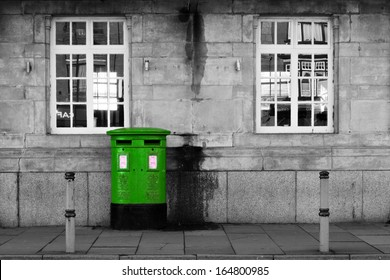 British Letterbox (green)