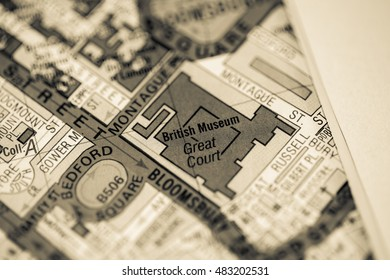 Natural History Museum London Uk Map Stock Photo Edit Now