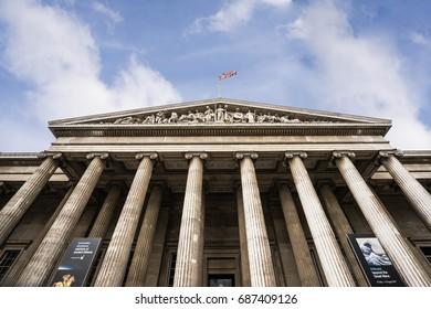 British museum,London,UK,JULY 2,2017