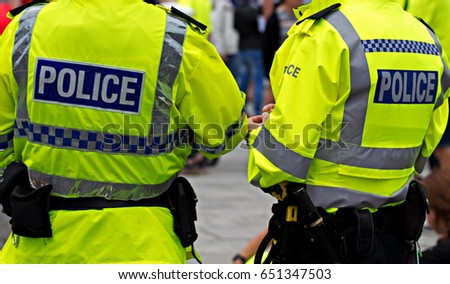 British Police Officers in