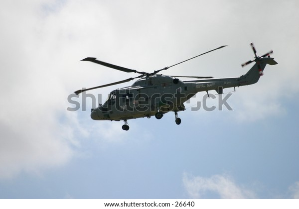 British Royal Navy Helicopter