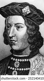 British Royalty. British King Edward IV, circa late 15th century.