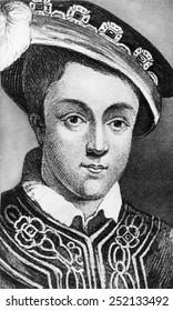 British Royalty. British King Edward VI, circa 1550s.