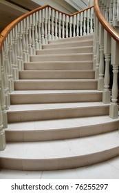 british style spiral staircase