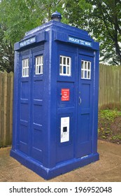 British telephone box for use by the police