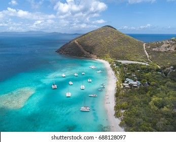 British Virgin Islands aerial