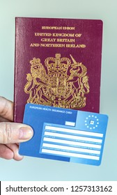 Britsih Passport and European Health Insurance Card