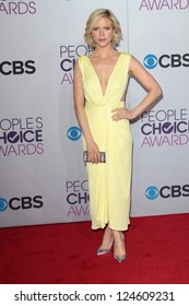 Brittany Snow at the 2013 People's Choice Awards Arrivals, Nokia Theater, Los Angeles, CA 01-09-13