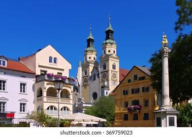 Brixen in S�¼dtirol - the town Bressanone in Alto Adige