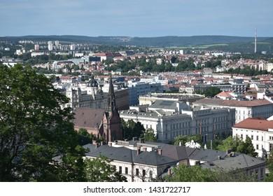 Brno city from Czech Republic