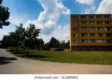 Brno City - Lesna, street Barvy, Czech Republic - Shutterstock ID 1112890841