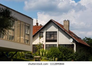 Brno City - Lesna, street Barvy, Czech Republic - Shutterstock ID 1112890844