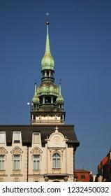 BRNO. CZECH REPUBLIC. 02 NOVEMBER 2015 : Old town hall in Brno. Czech republic