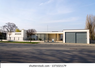 BRNO, CZECH REPUBLIC - APRIL 8 2019: Villa Tugendhat by architect Ludwig Mies van der Rohe built in 1929-1930, modern functionalism architecture monument, UNESCO World Culture Heritage site on April 8