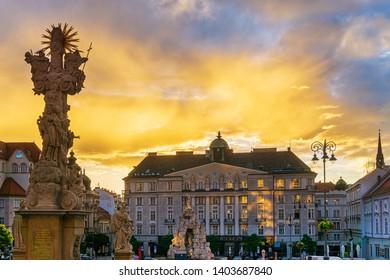 BRNO, CZECH REPUBLIC - July 25, 2017: Old Town Hall Brno, Czech Republic