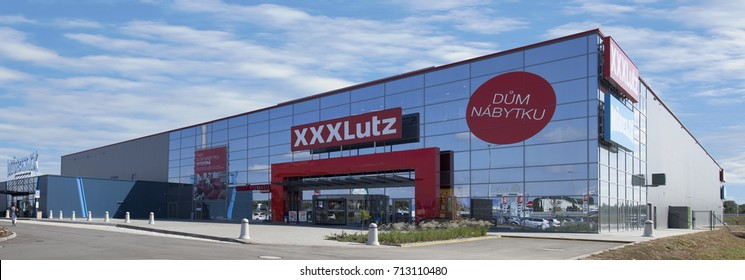 BRNO, CZECHIA, September 7th, 2017, XXXLutz-Group is the leading supplier of furniture in Austria. The XXXLutz-Group operates also in Czechia and further CEE countries