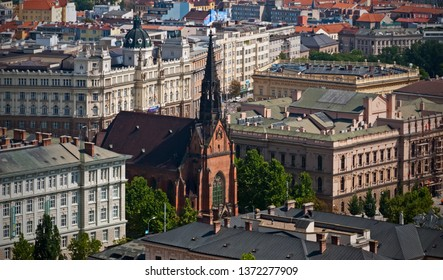 Brno, the second largest city of the Czech Republic with the Spilberk Castle