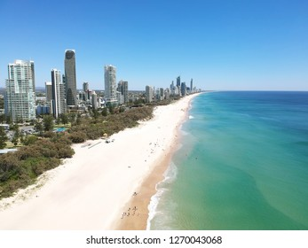 Broadbeach from the air