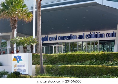 BROADBEACH, AUS - NOV 10 2014:Gold Coast Convention and Exhibition Center.It caters for up to 6,000 people, specialising in all events such as corporate and international events.