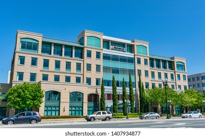 Broadcom semiconductor manufacturing company office in Silicon Valley - Sunnyvale, California, USA - May 25, 2019