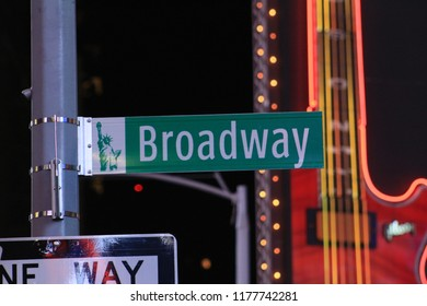 Broadway sign, Times Square