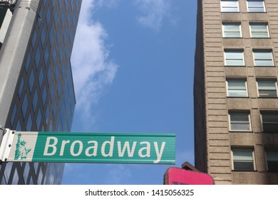 Broadway And TimesSquare 42nd Street (New York City/NYC)