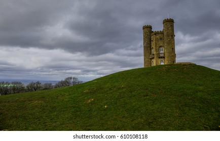 Broadway Tower on the hill