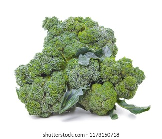 broccoli isolated on white - Shutterstock ID 1173150718