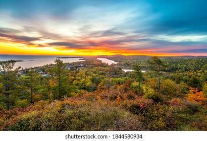 Brockway Mountain Sunrise, Copper Harbor Michigan
