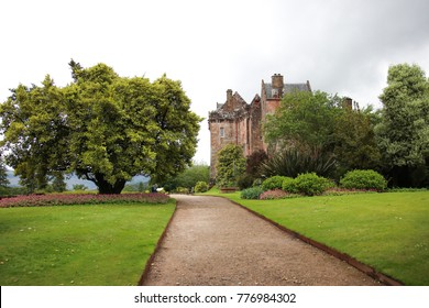 Brodick Castle, Garden and Country Park on the Isle of Arran in Scotland