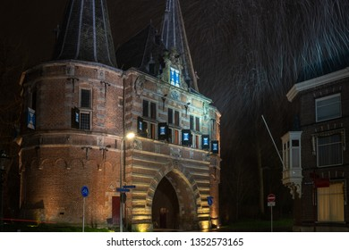 The Broederpoort is one of the famous three Kamper city gates left over in this ancient city full of monuments. This city gate is from the Middle Ages and is one of oldest city gates in the Netherland