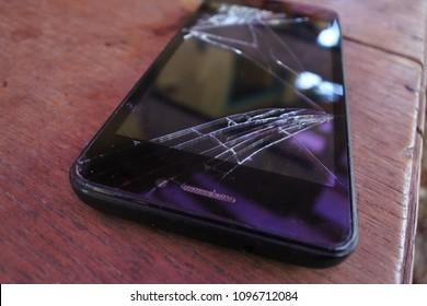 broke the screen on a new phone
