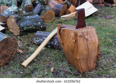 broken ax