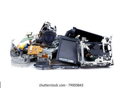 Broken camcorder